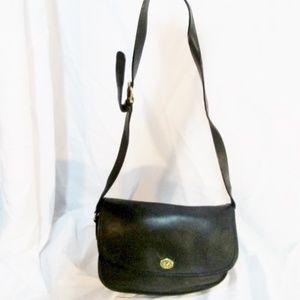 Vintage COACH 9790 Leather Saddle Crossbody Bag c6256fde76